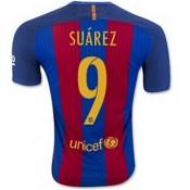 Maillot Barcelone Suarez Domicile 2016 2017