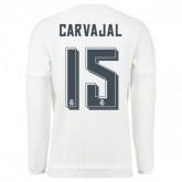 Maillot Real Madrid Manche Longue Carvajal Domicile 2015 2016