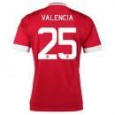 Maillot Manchester United Valencia Domicile 2015 2016