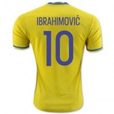Maillot Suede Ibrahimovic Domicile Euro 2016
