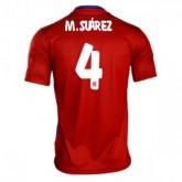 Maillot Atletico De Madrid M.Suarez Domicile 2015 2016