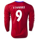 Maillot Atletico De Madrid Ml F.Torres Domicile 2015 2016