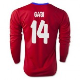 Maillot Atletico De Madrid Ml Gabi Domicile 2015 2016