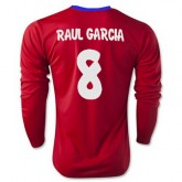Maillot Atletico De Madrid Ml Raul Garcia Domicile 2015 2016