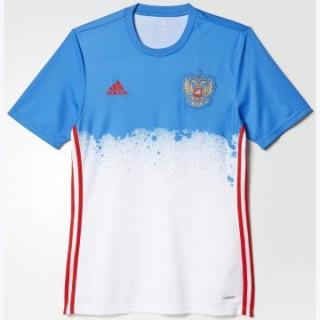 Maillot Avant-Match Russie Blanc 2016 2017