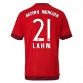 Maillot Bayern Munich Lahm Domicile 2015 2016