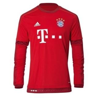 Maillot Bayern Munich Manche Longue Domicile 2015 2016