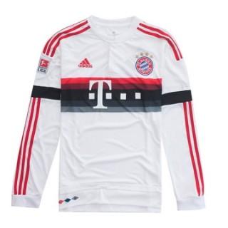 Maillot Bayern Munich Manche Longue Exterieur 2015 2016