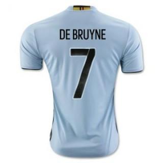 Maillot Belgique De Bruyne Exterieur Euro 2016