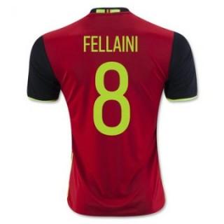 Maillot Belgique Fellaini Domicile Euro 2016