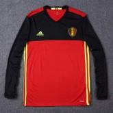 Maillot Belgique Manche Longue Domicile Euro 2016