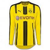 Maillot Borussia Dortmund Manche Longue Domicile 2016 2017