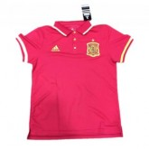 Maillot Espagne Polo Rouge 2016 2017