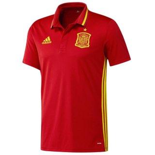 Maillot Espagne Polo Rouge Euro 2016