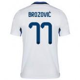 Maillot Inter Milan Brozovic Exterieur 2015 2016