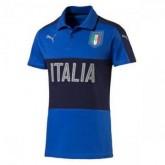 Maillot Italie Polo Bleu 2016 2017