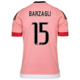 Maillot Juventus Barzagli Exterieur 2015 2016