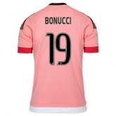 Maillot Juventus Bonucci Exterieur 2015 2016