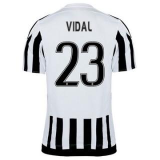 Maillot Juventus Vidal Domicile 2015 2016