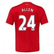 Maillot Liverpool Allen Domicile 2015 2016