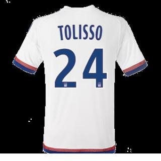 Maillot Lyon Tolisso Domicile 2015 2016