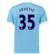 Maillot Manchester City Jovetic Domicile 2015 2016