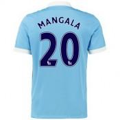 Maillot Manchester City Mangala Domicile 2015 2016