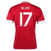 Maillot Manchester United Blind Domicile 2015 2016
