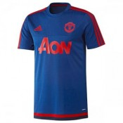 Maillot Manchester United Champion Formation Bleu 2015 2016