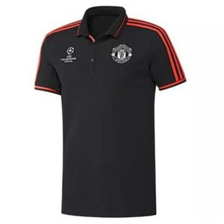 Maillot Manchester United Champion Polo Noir 2016