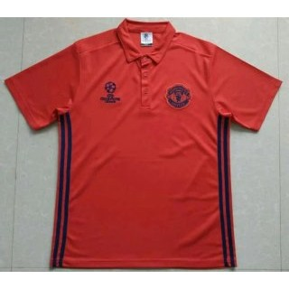 Maillot Manchester United Champion Polo Orange 2016