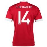 Maillot Manchester United Chicharito Domicile 2015 2016