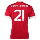 Maillot Manchester United Herrera Domicile 2015 2016