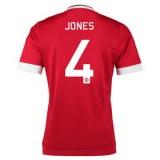 Maillot Manchester United Jones Domicile 2015 2016