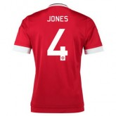 Maillot Manchester United Jones Domicile 2015 2016