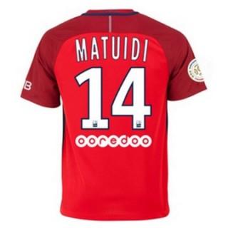 Maillot Psg Matuidi Exterieur 2016 2017