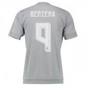 Maillot Real Madrid Benzema Exterieur 2015 2016