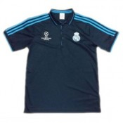Maillot Real Madrid Champion Polo Bleu Fonce 2016
