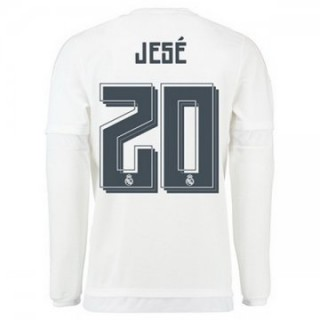 Maillot Real Madrid Manche Longue Jese Domicile 2015 2016