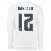 Maillot Real Madrid Manche Longue Marcelo Domicile 2015 2016