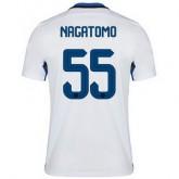 Maillot Inter Milan Nagatomo Exterieur 2015 2016