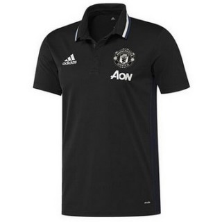 Maillot Polo Manchester United Noir 2016 2017