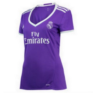 Maillot Real Madrid Femme Exterieur 2016 2017