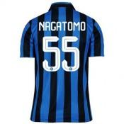 Maillot Inter Milan Nagatomo Domicile 2015 2016