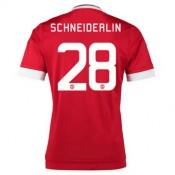 Maillot Manchester United Schneiderlin Domicile 2015 2016