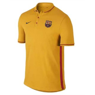 Maillot Barcelone Polo Jaune 2016