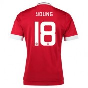 Maillot Manchester United Young Domicile 2015 2016