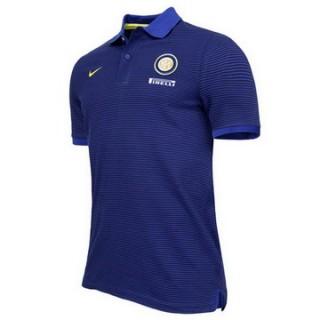 Maillot Polo Inter Milan Bleu 2016 2017