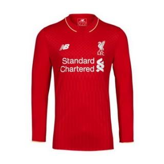 Maillot Liverpool Manche Longue Domicile 2015 2016