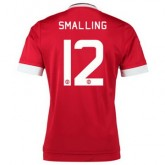 Maillot Manchester United Smalling Domicile 2015 2016